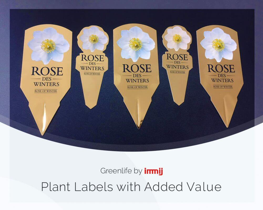 Plant Labels with Added Value