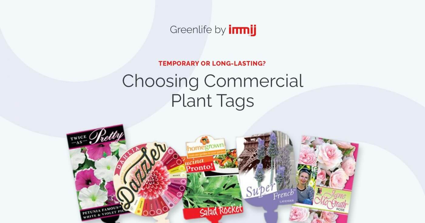 Temporary Or Long Lasting Choose The Best Commercial Plant Tags