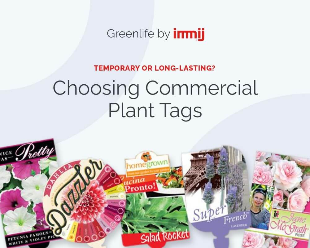 Temporary or Long-Lasting? Choosing Commercial Plant Tags