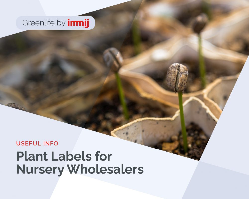 Plant Labels for Nursery Wholesalers