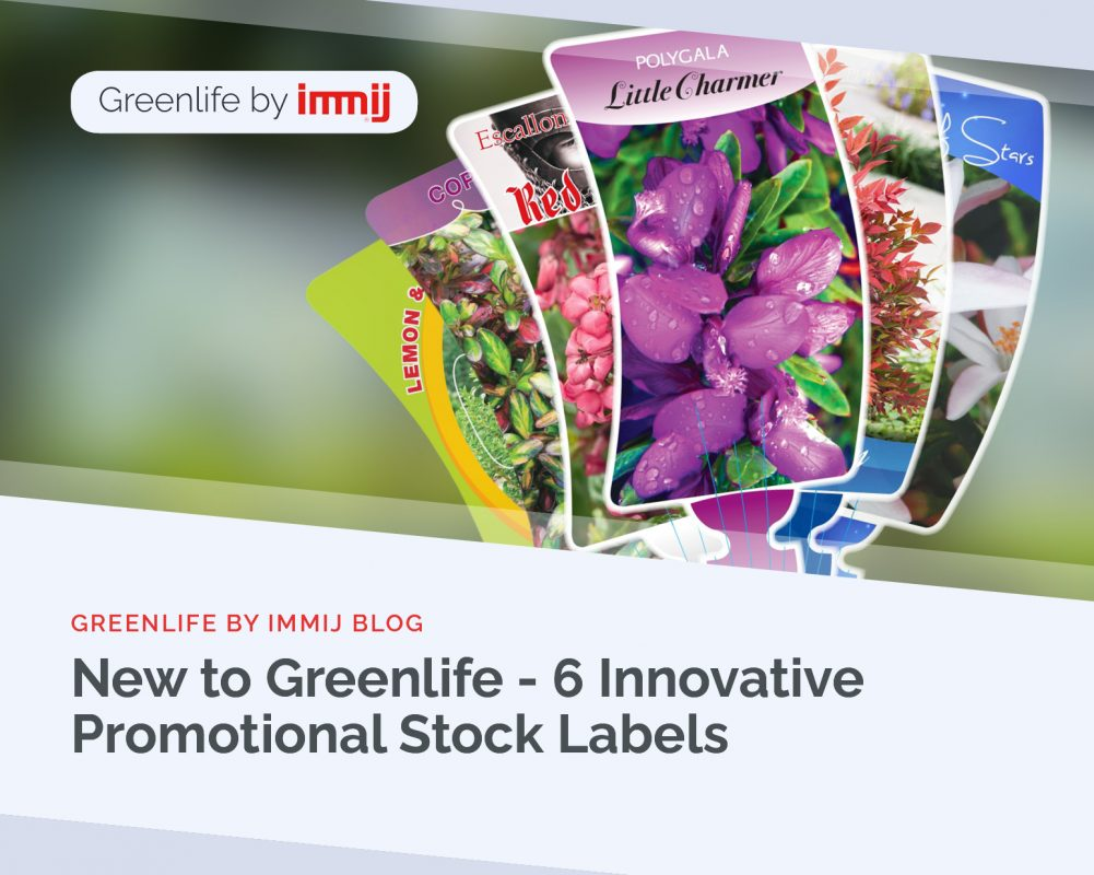 New to Greenlife - 6 Innovative Promotional Stock Labels
