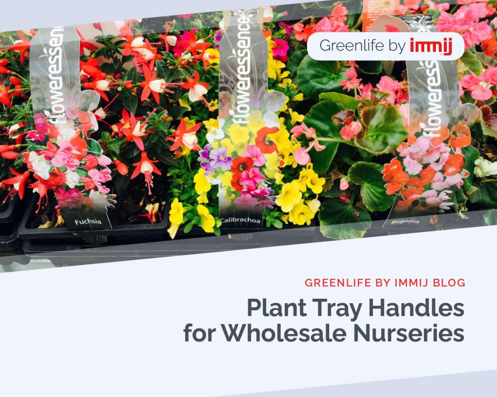 Plant Tray Handles for Wholesale Nurseries