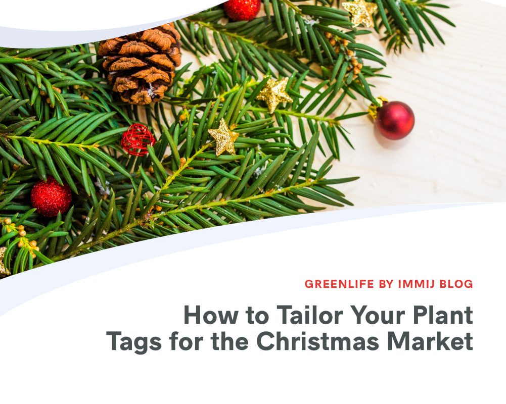 How to Tailor Your Plant Tags for the Christmas Market