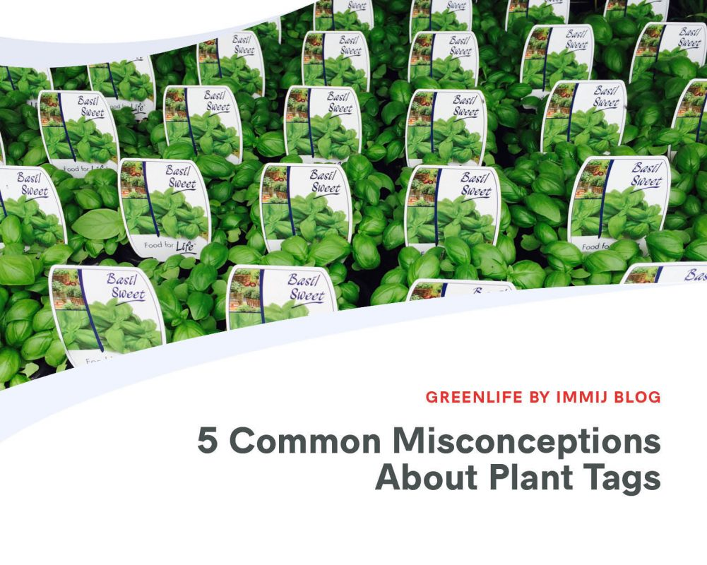 5 Common Misconceptions about Plant Tags