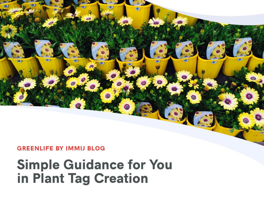 Simple Guidance for You in Plant Tag Creation